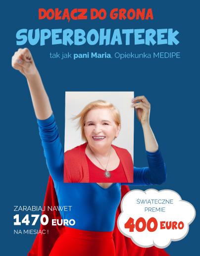 Wypełnij formularz i zarabiaj do 1470 EUR